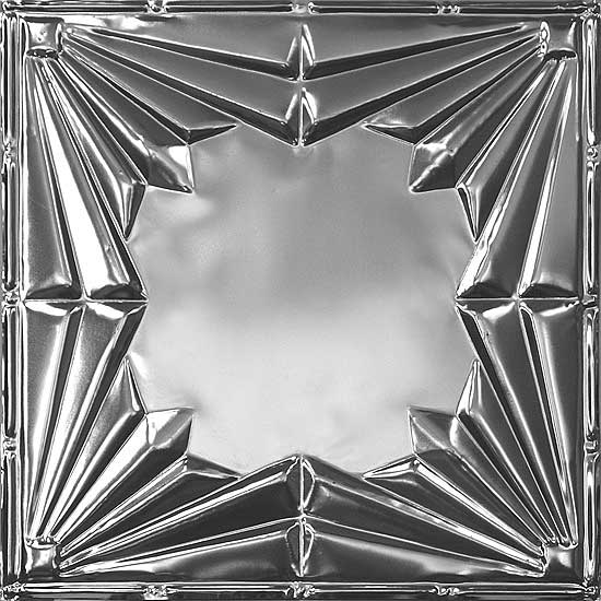 Wishihadthat tin ceiling tiles art deco style 24 07 for Plaque metal deco pour mur