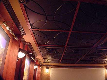 Drop Ceiling Tiles Black Genesis Stucco Pro Revealed Edge