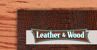 Wood and Leather