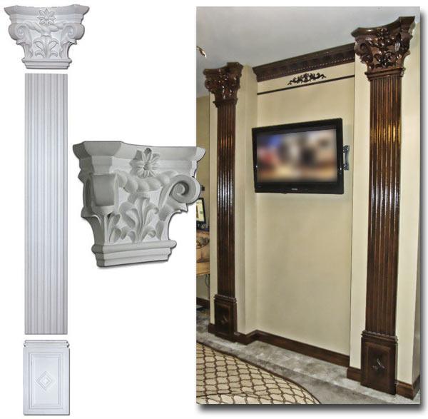 Decorative bronze mirrors