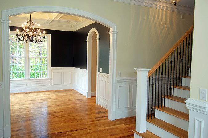 Entryway and Stair Design