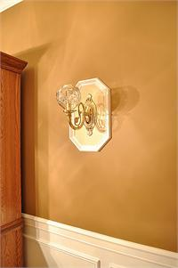 Tripartite Wall and Picture Frame