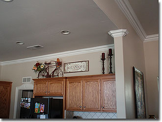 After Crown Molding Installation