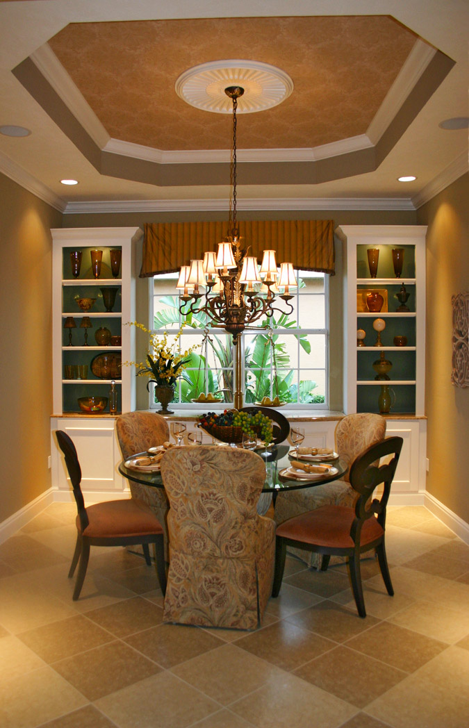 Example of a classic dining room design in San Francisco with gray walls